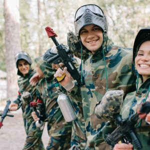 Paintball of airsoft in Harderwijk of Assen (12 p.)