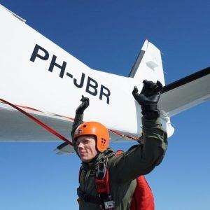Cursus zelfstandig parachutespringen boven Texel