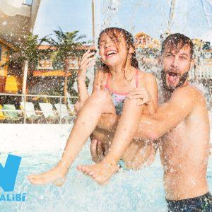 Entreeticket waterpark Aqualibi