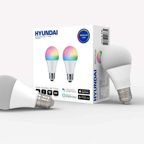 2 slimme wifi lampen