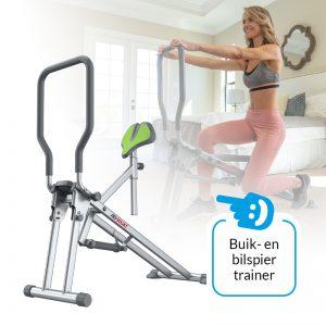 AB Squat - Buik- en bilspiertrainer - Geschikt voor alle trainingsniveaus