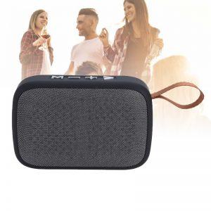 Bluetooth Speaker - Draadloze zwarte speaker