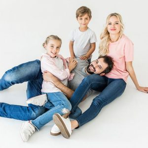Fotoshoot met vrienden of familie