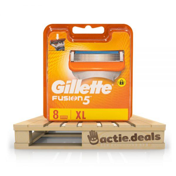 Gillette Fusion5 scheermesjes (XL pack 8 stuks)