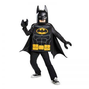 LEGO Batman kostuum - maat 104/116 - Stoer kostuum voor kids van 4 tot 6 jaar