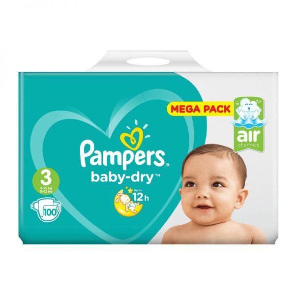 Pampers Baby Dry Luiers - Maat 3 - 6 tot 10kg