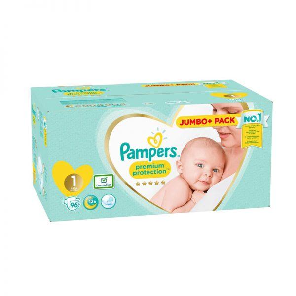 Pampers Premium Protection Luiers - Maat 1 - 2 tot 5kg