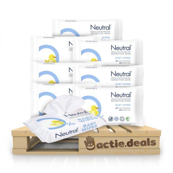 Voordeelpakket Neutral Parfumvrij Babydoekjes (504 stuks)