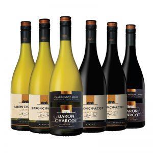 Wijnpakket Rondje Frankrijk - Baron Charcot