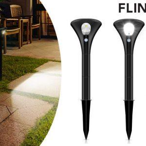 2-Pack FlinQ Solar Lampen Spike