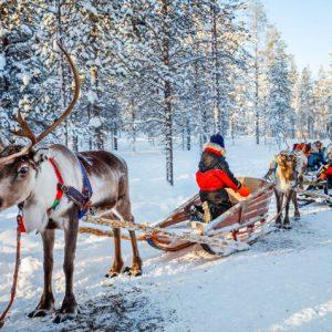 8-daagse winterreis Fins Lapland incl. vlucht & ontbijt & excursies én meer!
