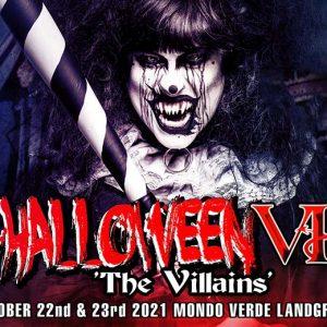 Entreeticket Halloween The Villains VI op 22 of 23 oktober 2021