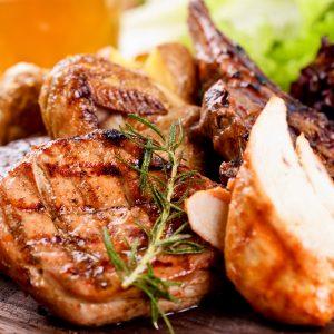 Mixed grill bij Restaurant Jasmijn