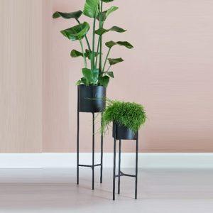Set van 2 plantenbakken